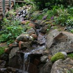 Custom waterfall in carmel valley